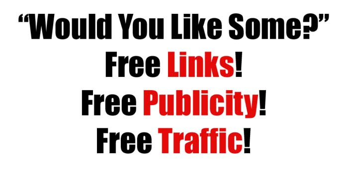 free links publicity traffic